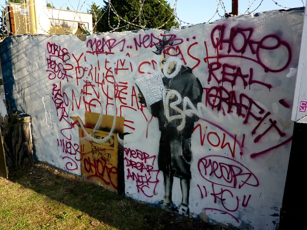 graffiti is vandalism