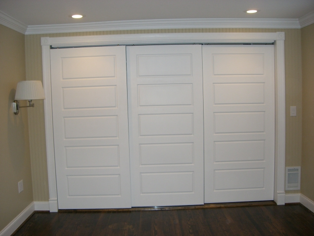 Master Bedroom Closet Doors 3 Door Bypass Chuck Tracey