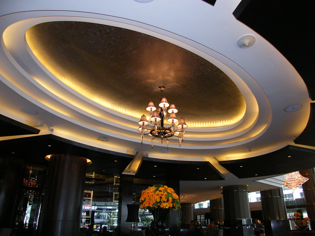 The Intercontinental Hotel Bangkok July 2009 Just Emerged From A Superb Renovation Programme