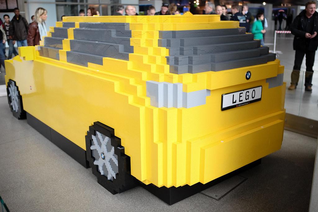 Lego Car Bmw Factory Munich Germany Car Made Of