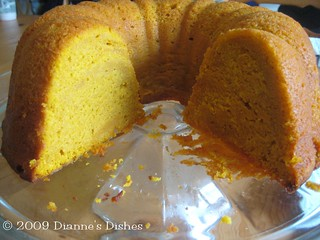 Pumpkin Pound Cake | by Dianne's Dishes