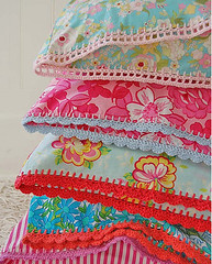 beata's crochet pillow cases | by lindamade