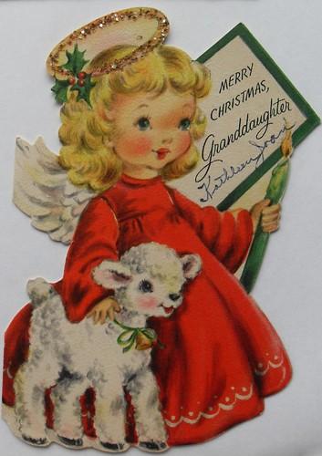 Glitter Christmas Photo Cards