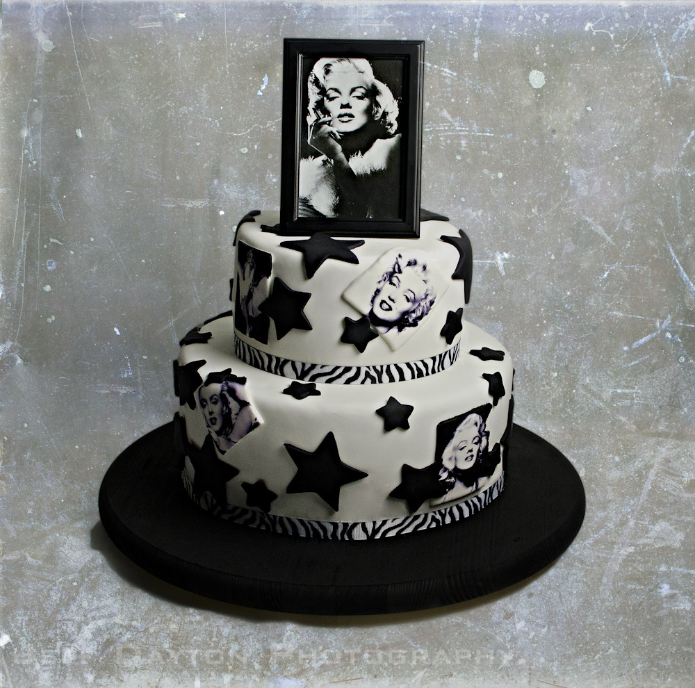 Marilyn Monroe Cake This Birthday Cake Was Held Hostage By Flickr