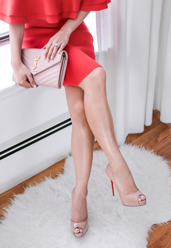 christian louboutin very prive nude pumps review