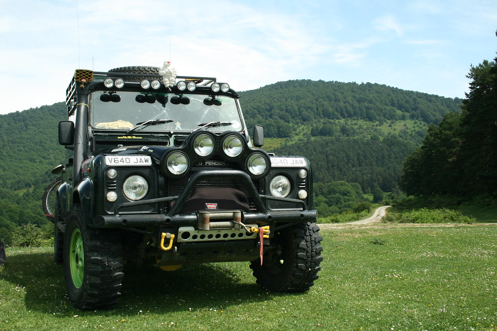 Land Rover Defender Modified Nick Wilkes Flickr