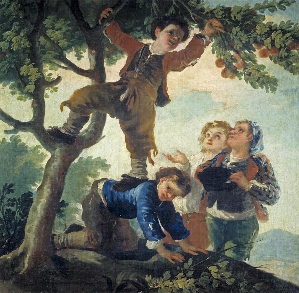 Goya 1778 - Boys Picking Fruit | Francisco de Goya y Lucient… | Flickr