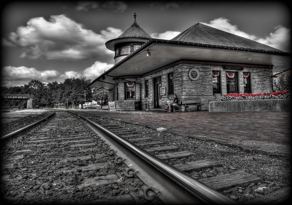 Kirkwood Train Station The Kirkwood Amtrak Station Is A Su Flickr