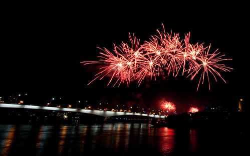 Brisbane River Fire - Fire works 2 | by Peter Sneddon