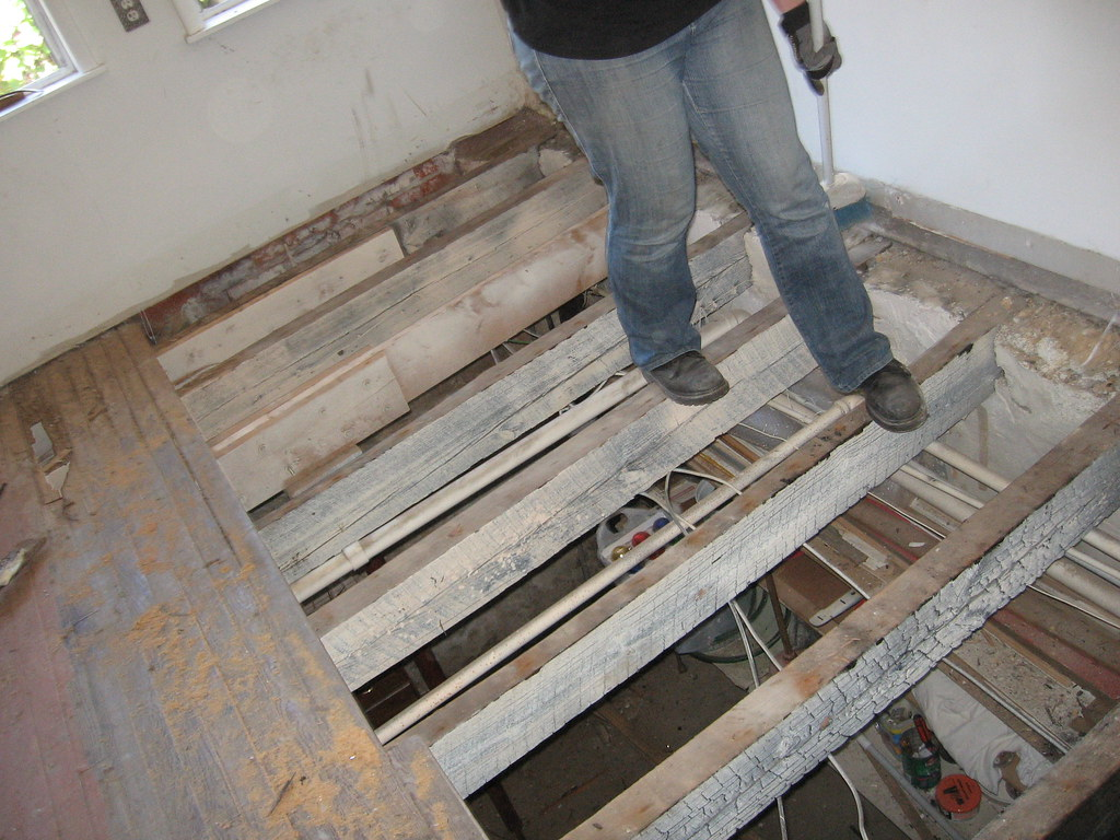 Kitchen Joists They Are Not Level I Guess It S The