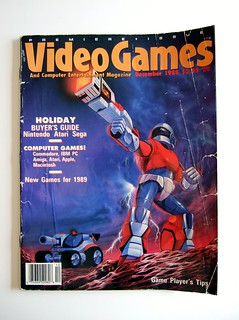 Video Games and Computer Entertainment magazine (premiere issue) | by bochalla