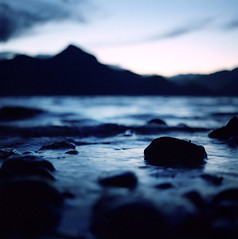 at the edge of porteau cove | by manyfires