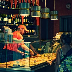 Pizza shop in Trastevere | by The Wolf
