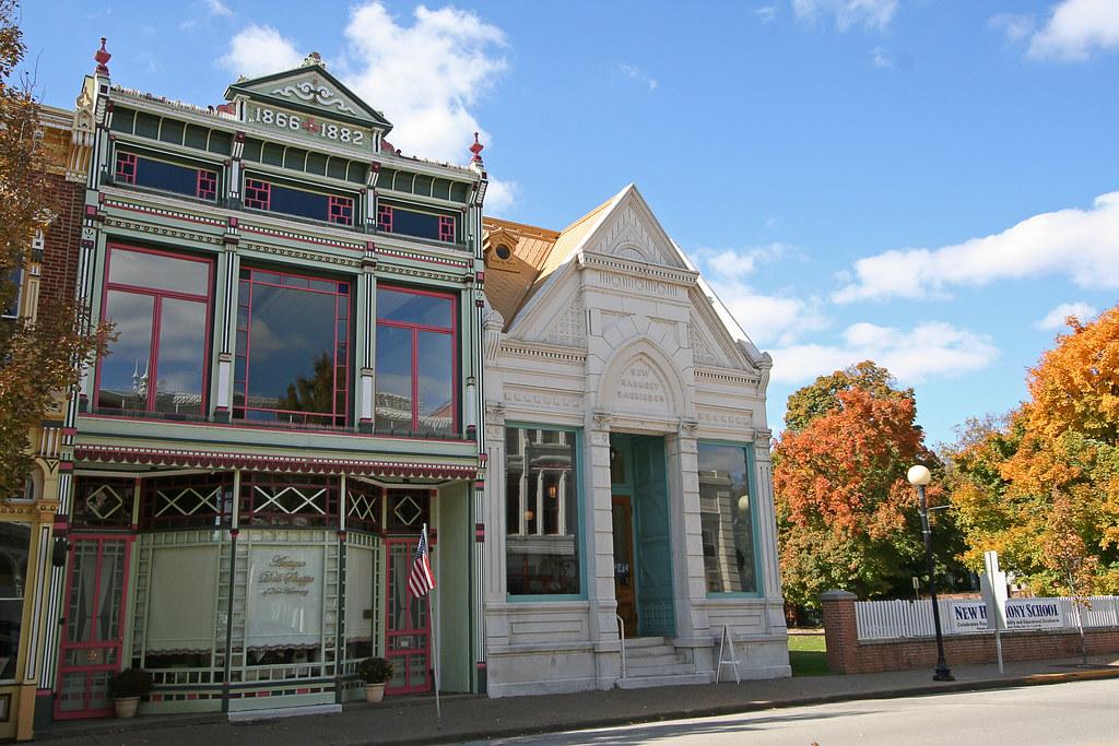 Religious Freedom >> Pretty New Harmony, Indiana | Historic New Harmony New Harmo… | Flickr
