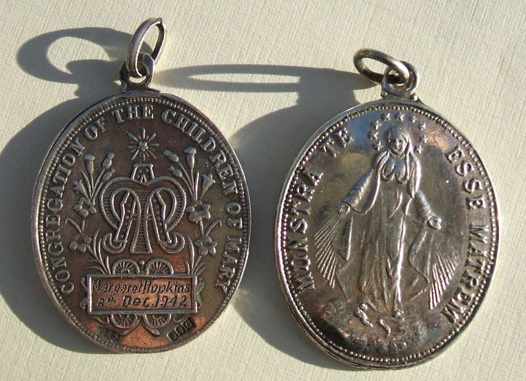 congregation of the children of mary religious medals  194 u2026