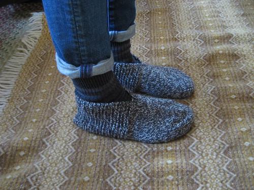 Bed Socks And Pattern Notes Christmas Present For