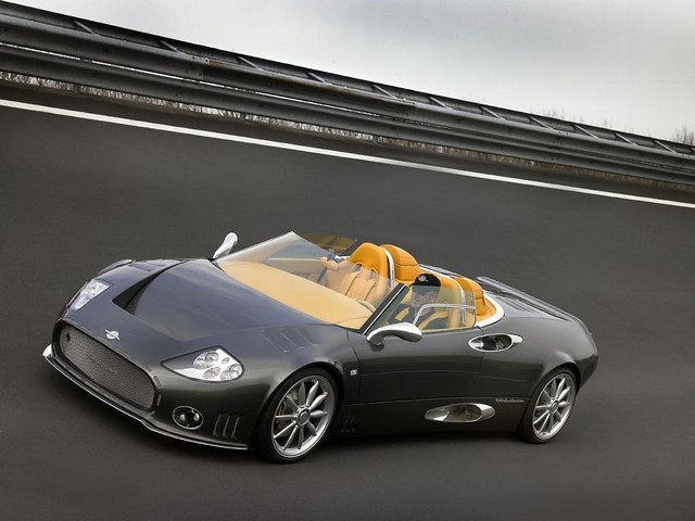 2006 Spyker C8 Spyder And C12 Laturbie In A New Movie B 64 Flickr