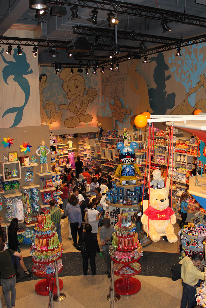 The Disney Store, Times Square