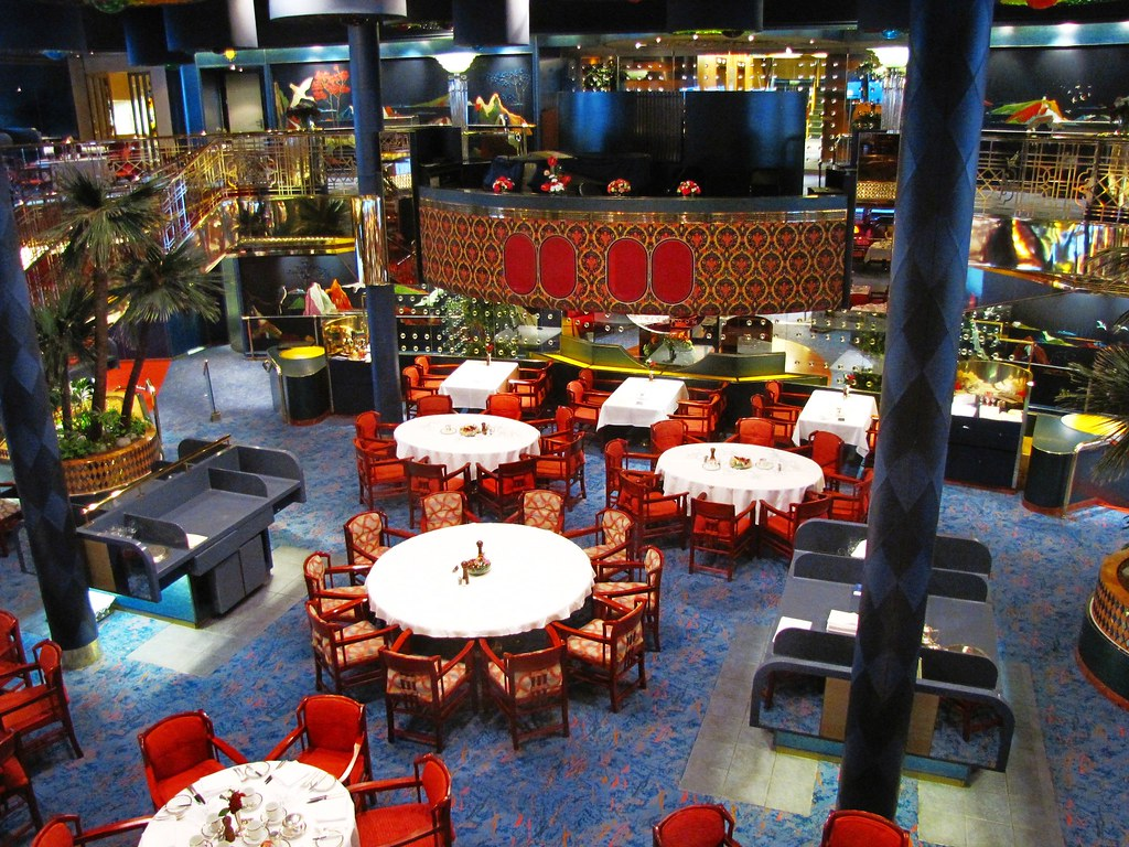 Holland And Holland >> La Fontaine Dining Room, ms Rotterdam, Holland America Lin ...
