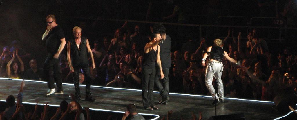 Depeche Mode Depeche Mode At Madison Square Garden August Flickr
