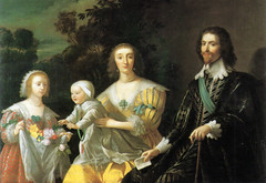 George Villiers, Duke of Buckingham, Catherine Manners, Duchess of Buckingham, and their children, Mary and George, 1628 | by lisby1