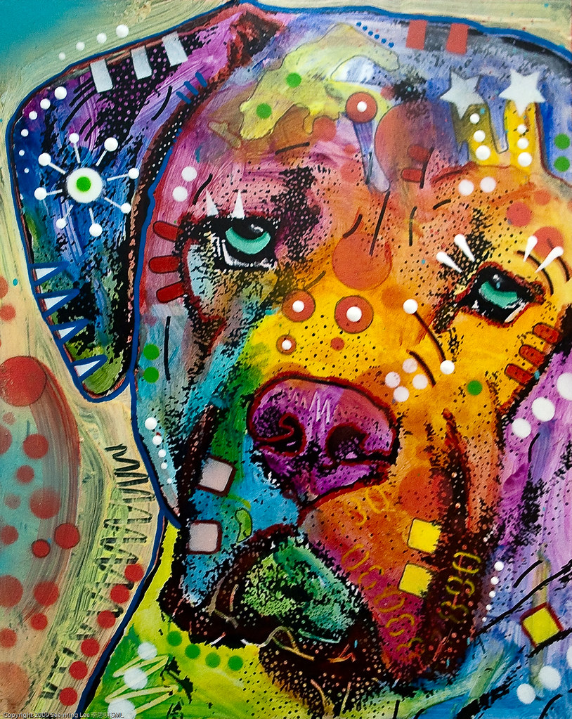 Mixed Media Painting By Dean Russo / Dumbo Arts Center: Ar
