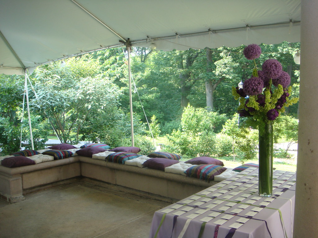 Summer Wedding At The Prospect Park Picnic House Tent