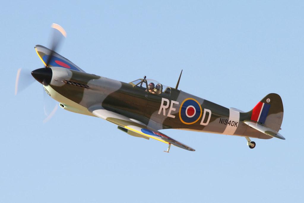 Jurca Mj 100 Supermarine Spitfire Replica N1940k My First Flickr