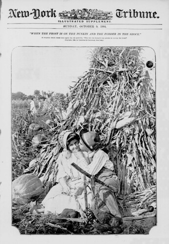 """When the frost is on the punkin and the fodder in the shock"" (LOC) 