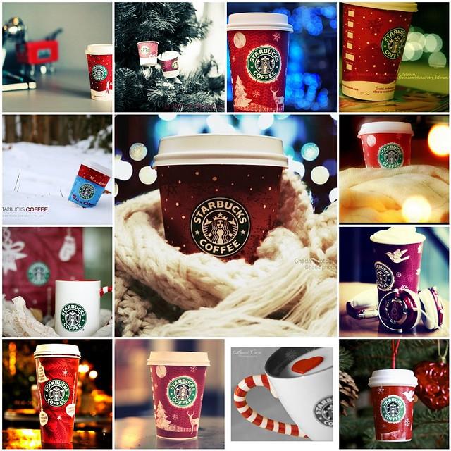 Starbucks uk 12 days christmas
