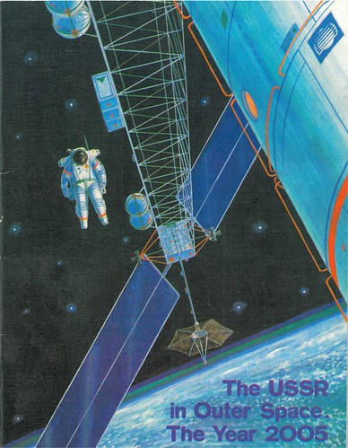 USSR in Space 2005 Cover (from 1988) | by FlyingSinger