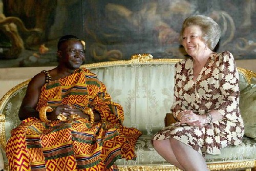The Asantehene With Queen Beatrice Of The Netherlands Flickr