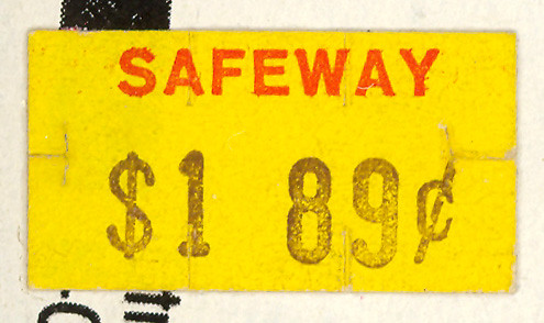 Vintage price stickers flickr