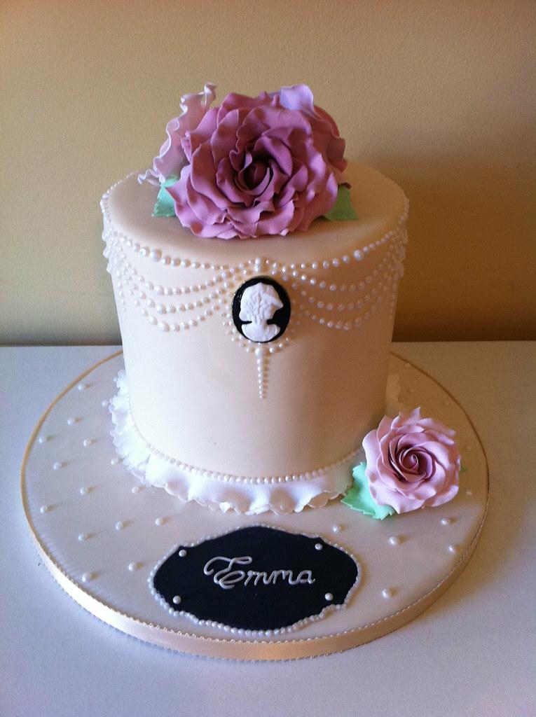 Vintage Cameo Cake Lea Layton Flickr