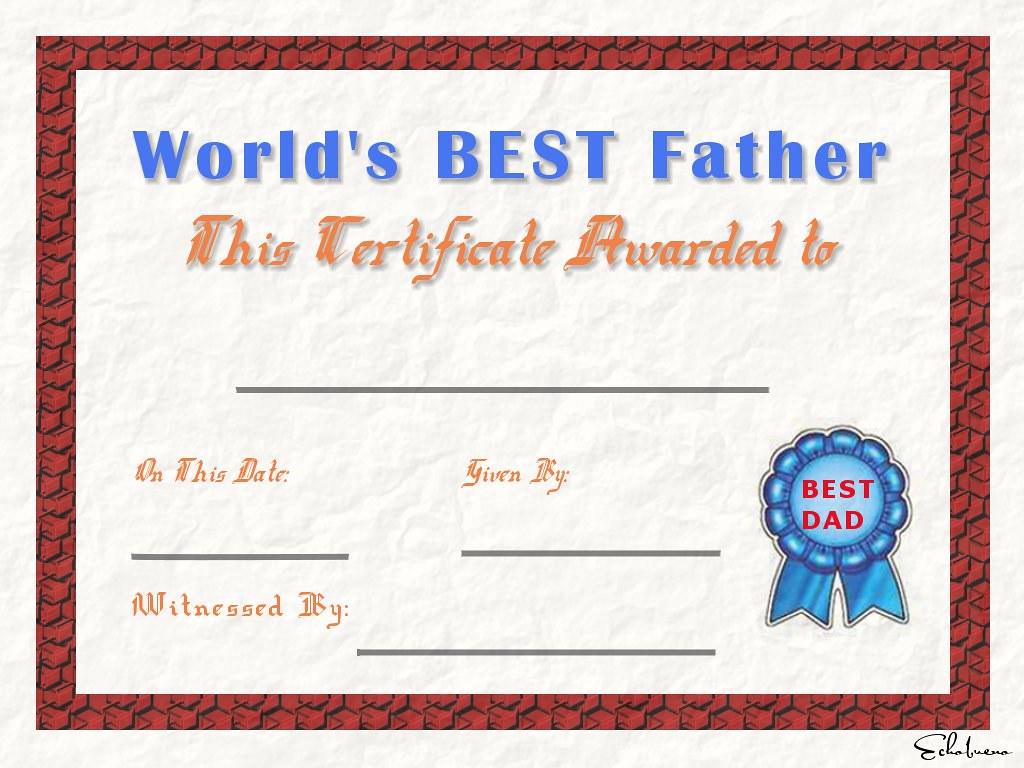 best father certificate blank echobueno flickr
