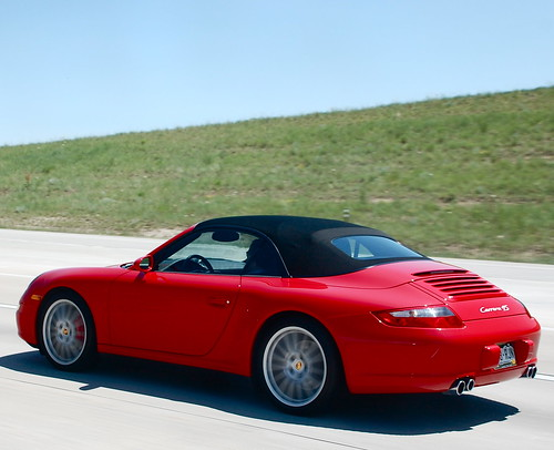 Guards Red Porsche 997 Carrera 4s Cabriolet I Honestly