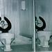 1977 Kodachrome Slide of Toilet Stalls