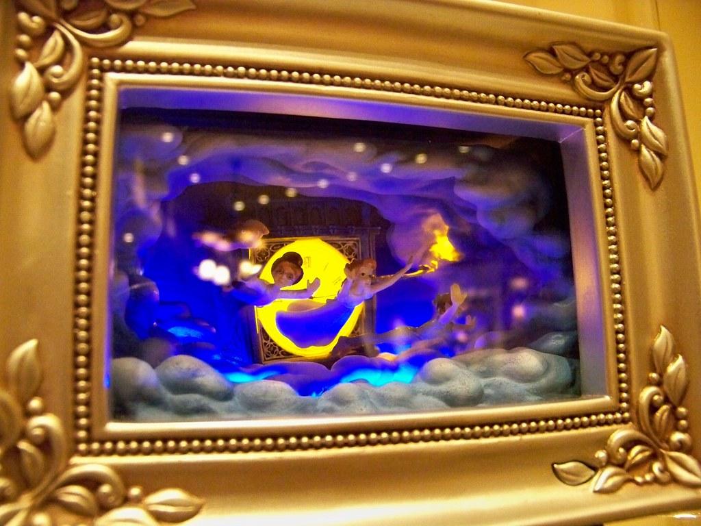Robert Olszewski Gallery Of Light Box Featuring Peter Pan