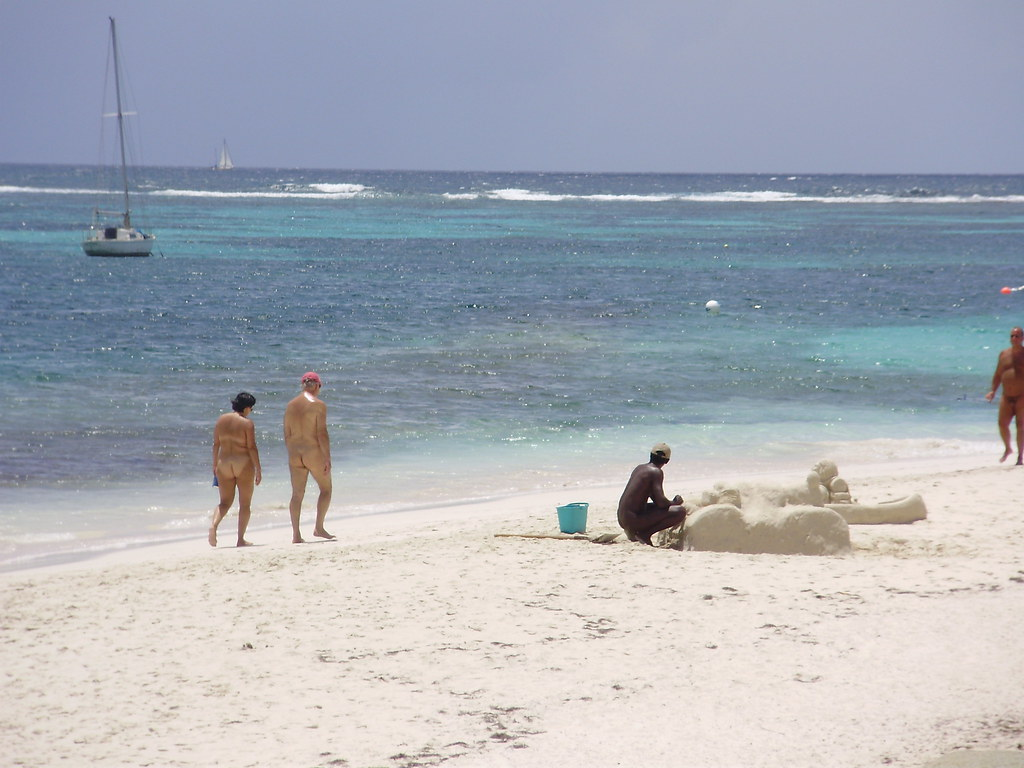 St Maarten Orient Beach Photos