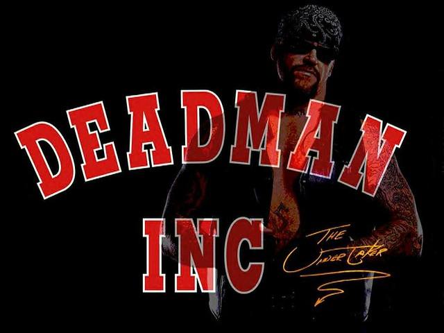 WWF WWE Undertaker Wallpaper 2 Deadman Inc