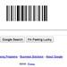 Google Bar Code Logo