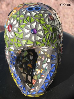 Mosaic Skull SK100 For Sale! | by CrystalDiamondDesigns ( Chrisse )