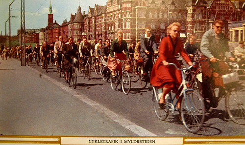 Bicycle Rush Hour Copenhagen - 1950s | by Mikael Colville-Andersen