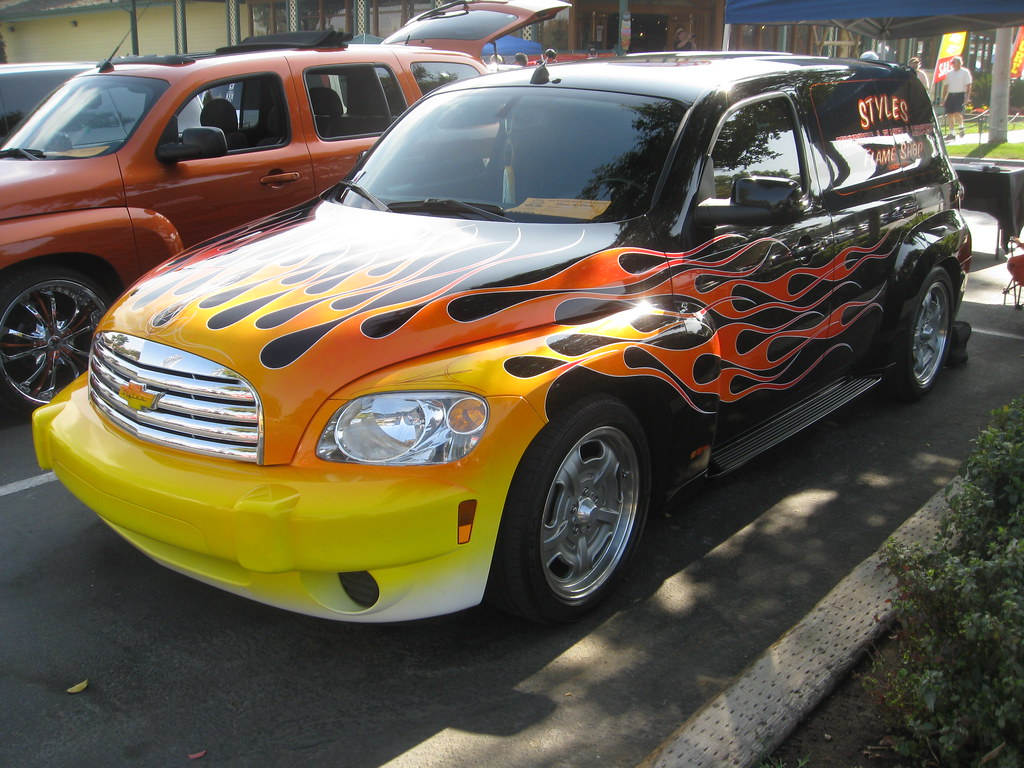 Chevrolet Hhr Panel Flames Mr38 Flickr