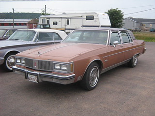 1982 Oldsmobile 98 Regency 4-door sedan | by JarvisEye
