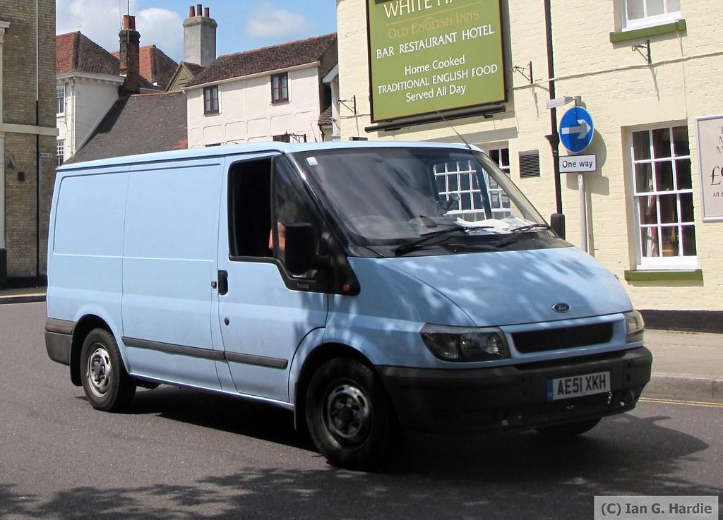 Ae51xkh Ae51xkh Ford Transit Van Coggeshall Road