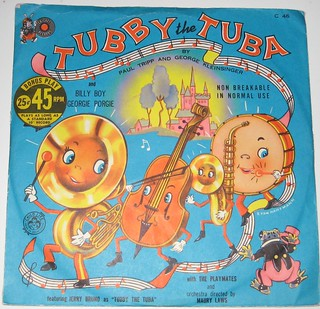 Tubby the Tuba Record | by Pennelainer