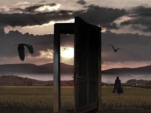 She left the door open the door is open for new for 0pen door