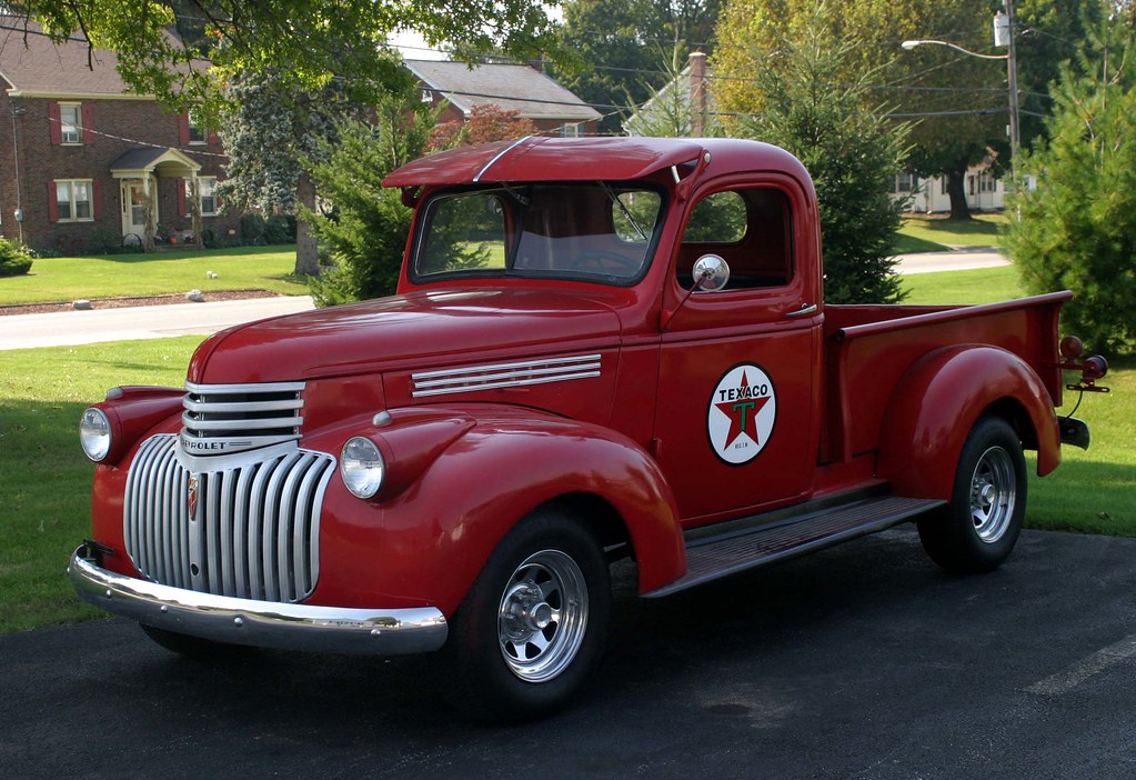 '46 Chevy pickup | This fully restored 1946 Chevy pickup ...