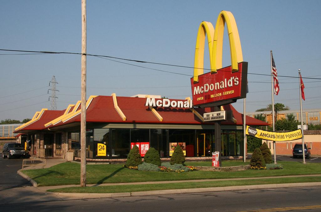 Mcdonald S Restaurant Old